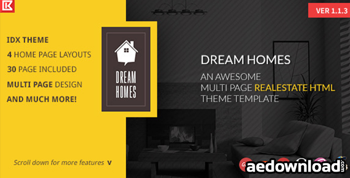 Dream Home v1.1.3 – Multipage Realestate HTML Template