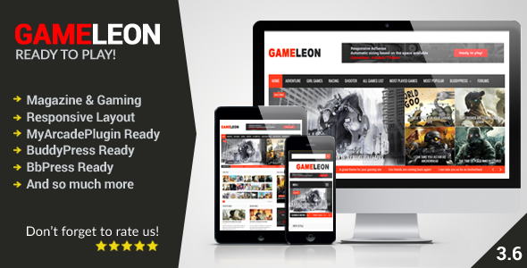 Gameleon-v.3.6-WordPress-Magazine-Arcade-Theme