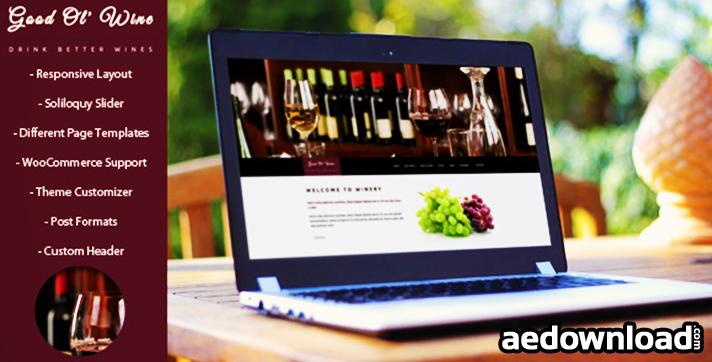 Good Ol Wine v1.5.4 – Wine & Winery WordPress Theme