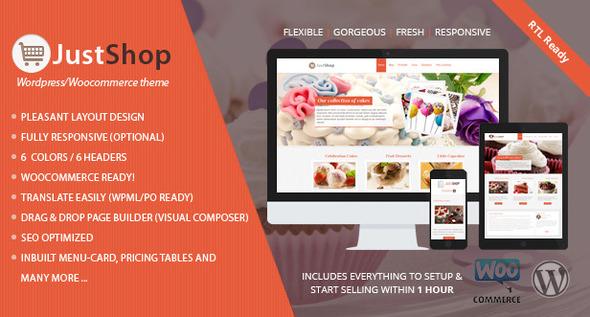 Justshop-v5.25-Cake-Bakery-WordPress-Theme