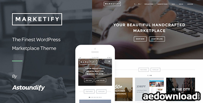 Marketify v2.5.0 – Digital Marketplace WordPress Theme