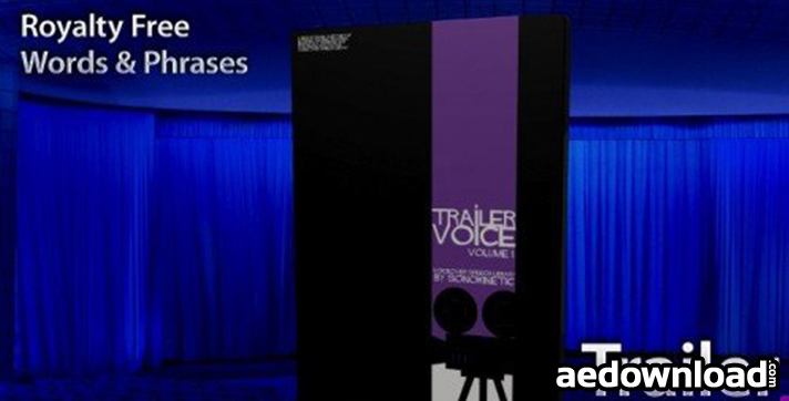 SONOKINETIC - TRAILER VOICE 1