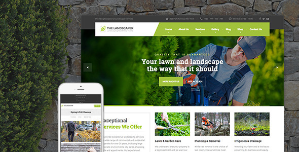 The-Landscaper-Lawn-Landscaping-WP-Theme-
