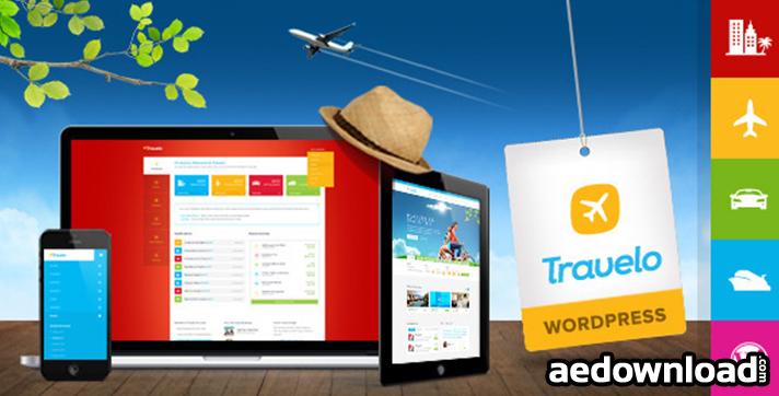 Travelo v1.5.9 – Travel Tour Booking WordPress Theme