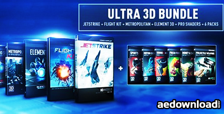VIDEO COPILOT - ELEMENT 3D 1.6.2 (ULTRA 3D BUNDLE) (2013)