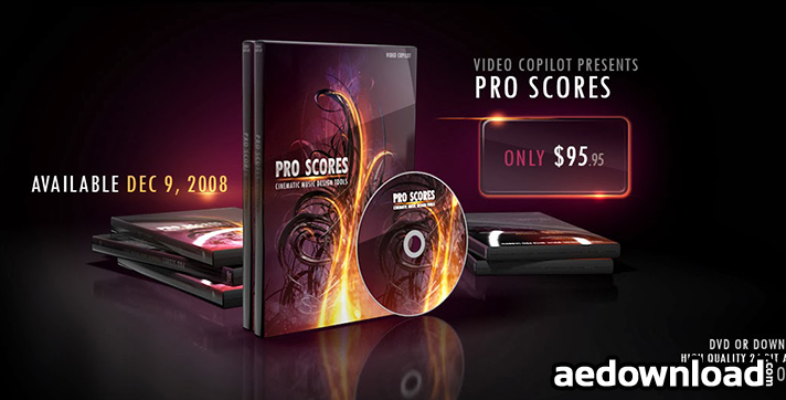 VIDEO COPILOT - PRO SCORES CINEMATIC MUSIC DESIGN TOOLS