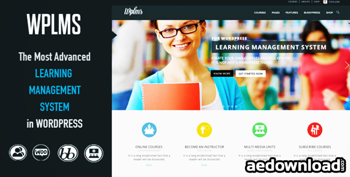 WPLMS v2.0.7 – Learning Management System
