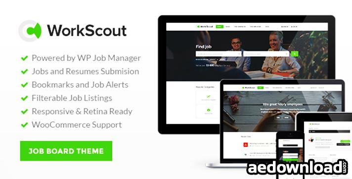 WorkScout v1.0.7 – Job Board WordPress Theme