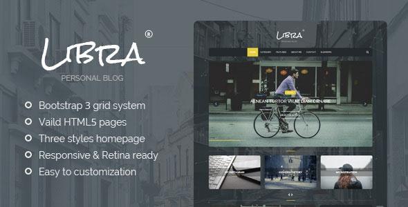 Libra-----Personal-Blog-HTML-Template