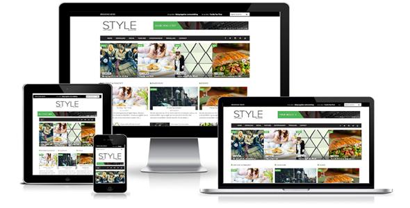 CreativeMarket-SALE-Style-Magazine-Blogger-Template-1