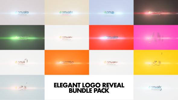 Elegant Logo Reveal Bundle Pack