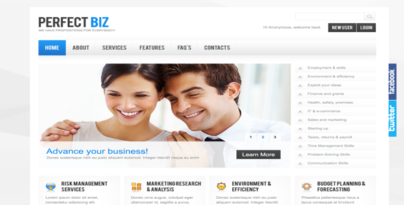 Perfect-Biz-Drupal-Template