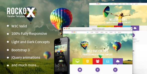RockoX-v1.3-One-Page-Parallax
