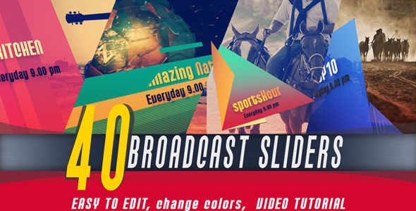 Broadcast Slider