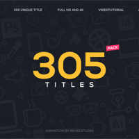 VIDEOHIVE 305 TITLES ULTIMATE PACK FREE DOWNLOAD