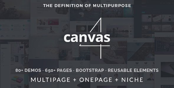 Canvas-v4.0-The-Multi-Purpose-HTML5-Template