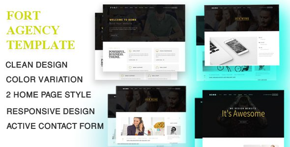 Fort-Corporate-Agency-Template