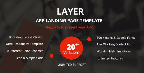 Layer-Responsive-App-Landing-Page-