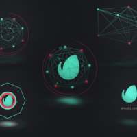 Videohive – Connected Shapes Logo Reveal 19301489 – Free Download
