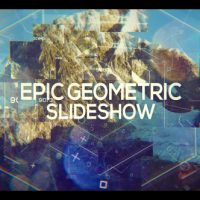 VIDEOHIVE EPIC GEOMETRIC SLIDESHOW