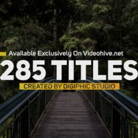 VIDEOHIVE TITLES ANIMATION 20675116
