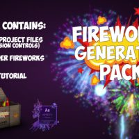 VIDEOHIVE FIREWORKS FREE AFTER EFFECTS TEMPLATE