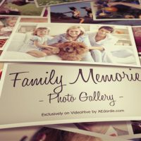 VIDEOHIVE PHOTO GALLERY – FAMILY MEMORIES