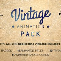 VIDEOHIVE VINTAGE ANIMATION PACK