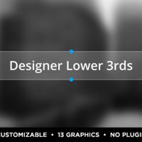 VIDEOHIVE DESIGNER TITLES AND LOWER THIRDS