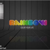 VIDEOHIVE RAINBOW LOGO