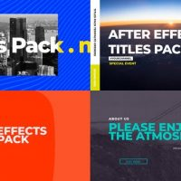 VIDEOHIVE LIFESTYLE TITLES PACK