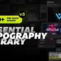 VIDEOHIVE ESSENTIAL TITLES AND LOWER THIRDS V5.2