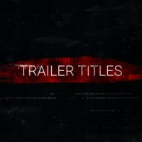 VIDEOHIVE ACTION TRAILER TITLES
