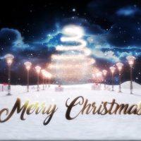 VIDEOHIVE MERRY CHRISTMAS LOGO REVEAL 25269473