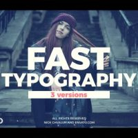 VIDEOHIVE FAST TYPOGRAPHY